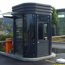 成都鋼化玻璃售樓部迎賓形象站崗亭定制