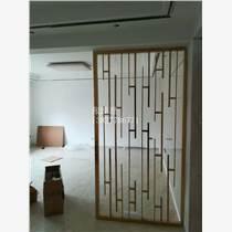彩色不锈钢屏风酒店大型工程装饰花格