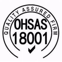 2007版ISO18001職業健康安全管理體系認證證