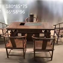 非洲鸡闲翅木休茶桌六件套