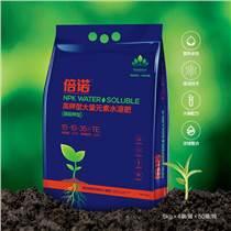 供應倍諾高鉀型大量元素水溶肥,補充植物必需的營養成分