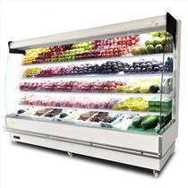 鄭州水果風幕柜 不銹鋼水果保鮮展示柜定做