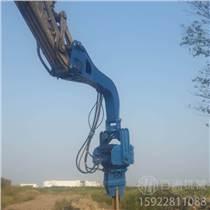 公路護欄液壓鉆孔機 山東濟寧打樁機生產廠家 液壓機械