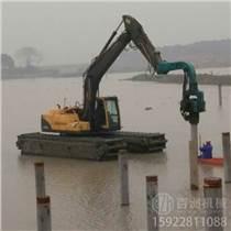 湖南張家界螺旋鉆機 挖機打樁機電桿鉆孔機
