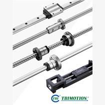 激光焊接机用台湾TBI原装高稳定性精密研磨级滚珠丝杆