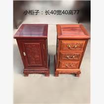 赞比亚血檀小柜子 红木家具