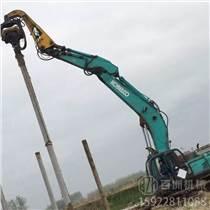 高頻打樁機 挖掘機液壓打樁機 工地振動錘頭 光伏樁打