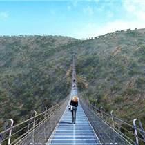 河南甘肃玻璃吊桥设备设计安装