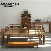 成都休閑仿古家具 中式古典中醫館家具定制傳統