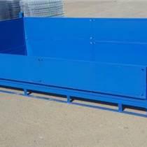 堆垛周轉箱金屬鐵箱鋼制鐵箱廢料箱鐵屑倉儲籠折疊箱大鐵