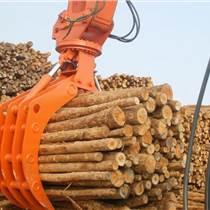 液压式机械式抓木器 旋转夹木机 工程机械配件设备
