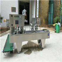 呂工牌全自動杯裝楊梅汁灌裝封口機 果蔬飲料灌裝機設備