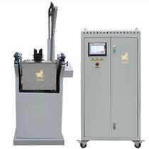 IGBT鏈條傾倒中頻熔煉爐 安全節能高效首飾設備