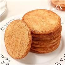 新品酱油饼膨化?#23578;?#26426;设备 办公休闲零食杂粮酱油饼生产