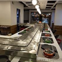输送带旋转火锅餐桌 回转火锅餐桌 自助小火锅餐桌 转