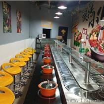 佛山市生產旋轉火鍋餐桌 回轉火鍋餐桌 自助小火鍋旋轉