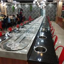 定制生产旋转火锅餐桌 回转火锅餐桌 自助小火锅餐桌