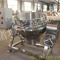 鹵味熟食生產線 湯料蒸煮夾層鍋 大型炒鍋機