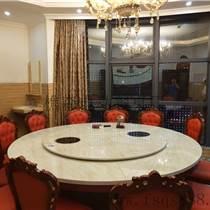 歐式電動轉盤餐桌批發價銷售各種餐桌 飯店餐桌椅 酒店