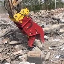 卡特320挖機粉碎鉗 液壓鉗 拆遷粉碎混凝土機械