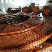 遙控噴泉電動餐桌/家用餐桌/實木桌椅/餐廳桌椅樵森家