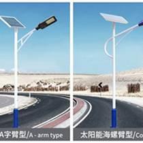 定制太阳能路灯30W高杆9米户外LED灯头新农村公路