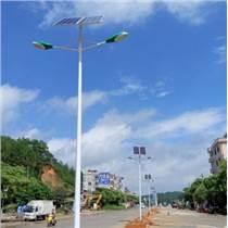 定制6米60w双臂太阳能路灯高杆户外LED路灯新农村