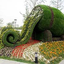 陜西西安綠雕仿真植物墻廠家