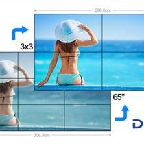 3.7mm最新款4K面板三星65寸拼接屏