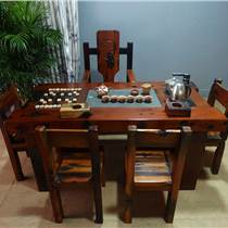 老船木餐桌餐廳家具餐臺6人座餐桌食堂長餐桌廠家直銷