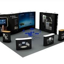 專業展覽展示搭建 定制展柜 燈箱廣告背景墻制作