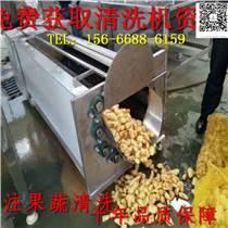 馬鈴薯毛輥清洗機 軟毛刷清洗機