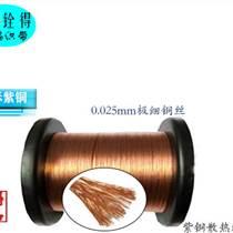 铨得热销0.025mm极细铜丝编织带 裸铜散热编织带