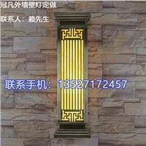 冠凡中式拉丝紫铜壁灯电镀青古铜壁灯定做图样