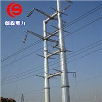 电力钢桩基础打桩施工 电力输电钢杆 电力钢桩基础打桩