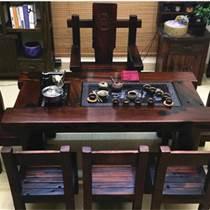 老船木茶桌功夫茶台,实木茶几茶台船木茶桌沙发