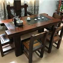 老船木餐桌船木餐台船木饭桌方形餐桌