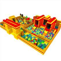 大型積木兒童樂園室內兒童積木EPP積木拼裝城堡