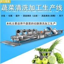大型果蔬净菜生产线,食品加工流水线