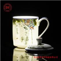 景德镇陶瓷茶杯礼品杯价格