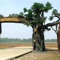 河北石家莊生態大門設計-河北滄州生態園大門制作