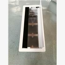 可以生產帶線槽的桌面線盒的廠家 3孔位白色辦公桌面插