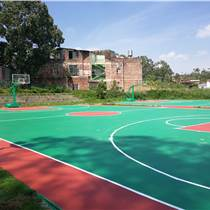 广州硅PU篮球场施工建设及塑胶篮球场材料生产厂家