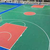 广州硅PU篮球场施工建设篮球场材料生产厂家