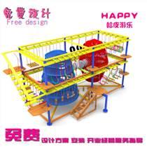 兒童拓展樂園繩網樂園組合兒童冒險樂園運動樂園淘氣堡廠