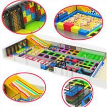 芭咘啦品牌淘氣堡室內游樂場兒童樂園游樂設備加盟