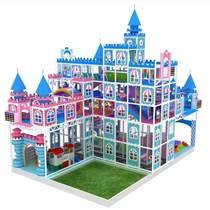 提供2019新款英倫系列兒童淘氣堡樂園游樂場設備