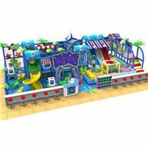 小型淘气堡室内儿童游乐场epp积木飞跃滑梯厂家直销