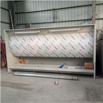 西峰市环保设备 博远水帘喷漆台  水帘柜厂家