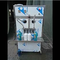半自動2頭酒裝瓶機 白酒灌裝機 自動酒灌裝設備